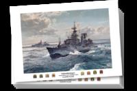 Ansichtkaarten---Onderzeebootjagers