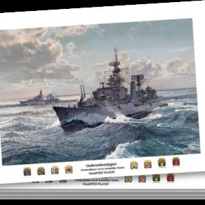 Ansichtkaarten - Onderzeebootjagers