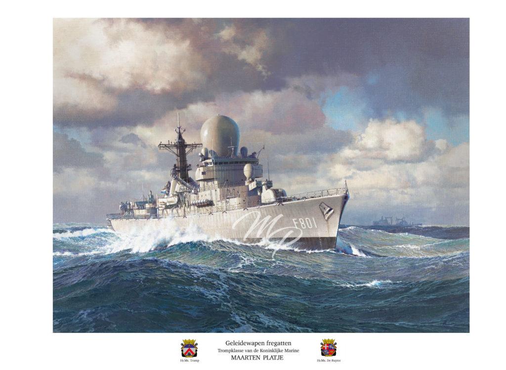 Art Print - Geleidewapen fregatten
