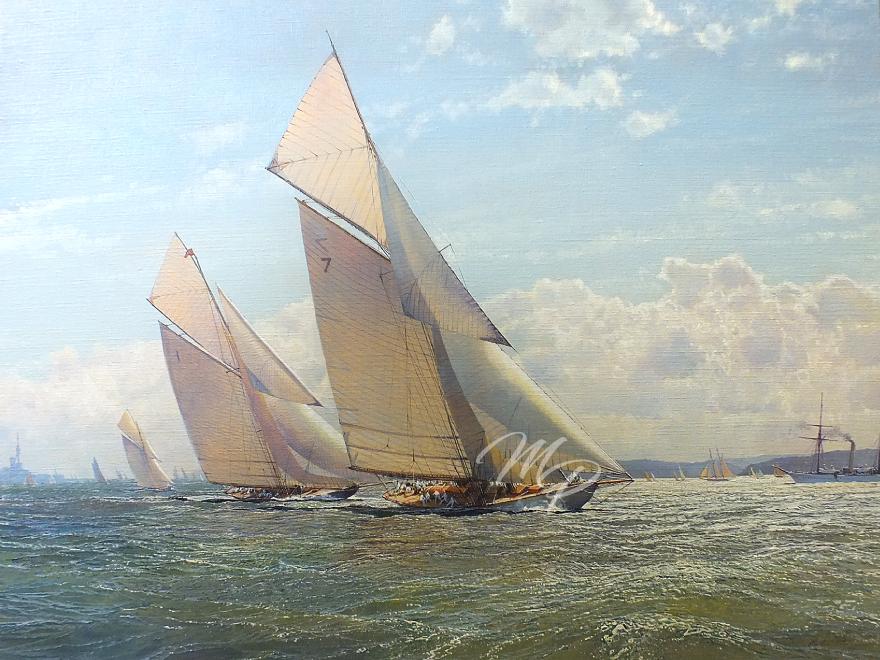 'Racing in the Solent 1926'
