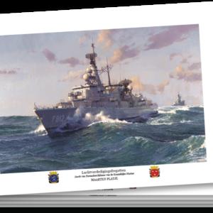 Ansichtkaarten A5 - Luchtverdedigingsfregatten