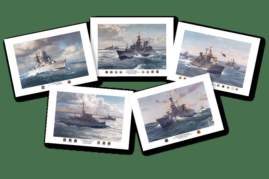 Ansichtkaarten A5 Set 2020/2021